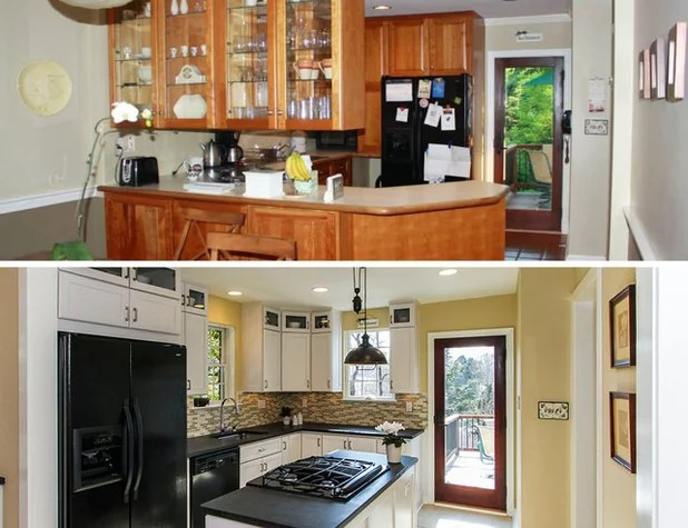 Small Galley Kitchen Peninsula