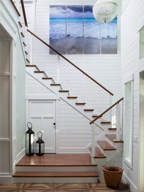 Houzz Beach Style Staircase Design Ideas Remodel Pictures