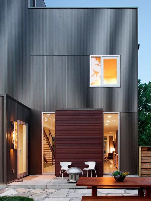 Metal Siding Ideas, Pictures, Remodel and Decor on Contemporary Siding Ideas  id=15496