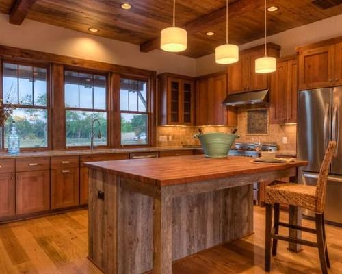 Knotty Alder Kitchen Cabinets Houzz