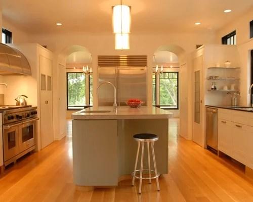 P Shaped Kitchen Layout