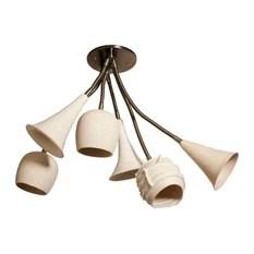 Lightexture Claylight Bouquet Six Shades Chandeliers