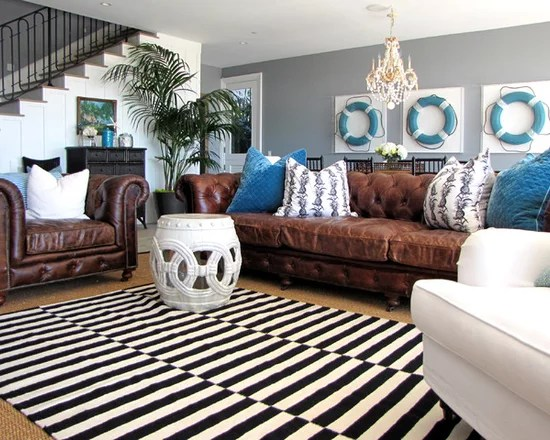 Black Leather Sofa With Sofas And Sectionals Living Room Transitional Flush Hearth
