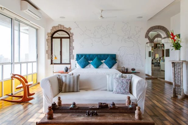 Houzz Tour: Eclectic Design In An Indian Actor's Colorful Home