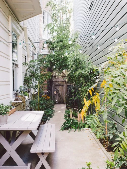 Narrow Side Yard Ideas, Pictures, Remodel and Decor on Narrow Yard Ideas  id=57442