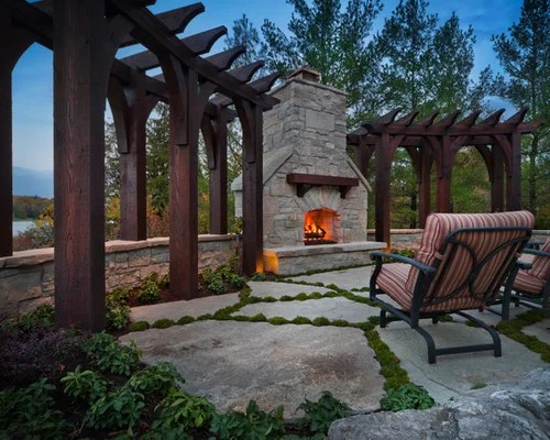 Lakefront Landscape Ideas, Pictures, Remodel and Decor on Lakefront Patio Ideas id=63557