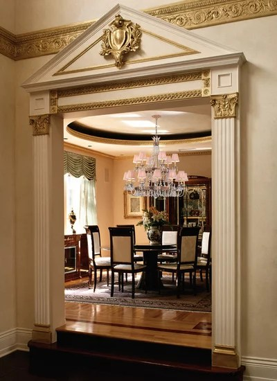 Regency Style Shows Interiors A Grand Time