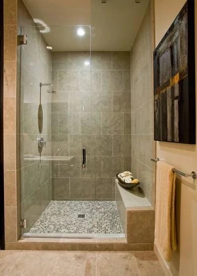 Contemporary Bathroom by Angela Todd Studios   Portland, OR