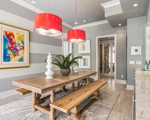 Striped Accent Wall Ideas, Pictures, Remodel And Decor