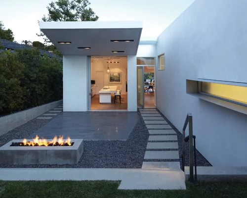 Concrete Fire Pit | Houzz on Modern Boma Ideas id=21183
