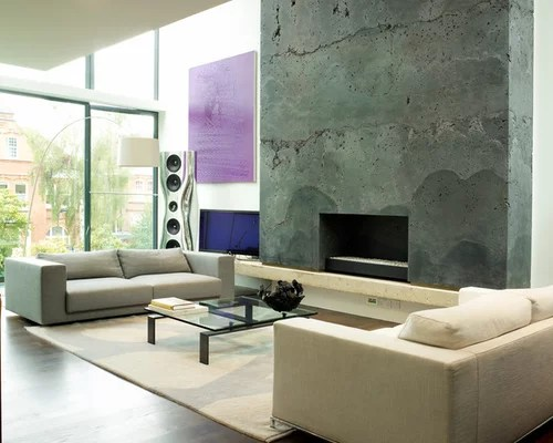 Fireplace Feature Wall Home Design Ideas, Pictures