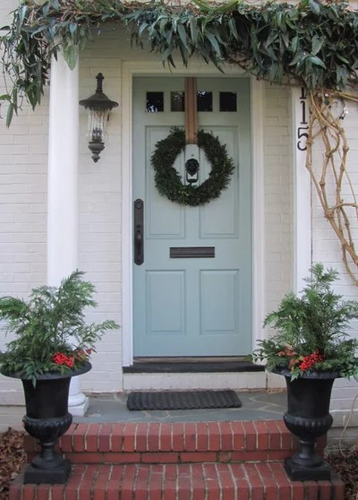 Eclectic Entry Christmas