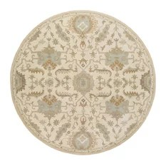 Surya Caesar CAE1166 Brown Traditional Area Rug Round 8'x8'