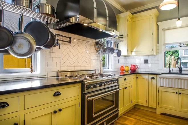 Midcentury Kitchen by Pradhan Studios Photography