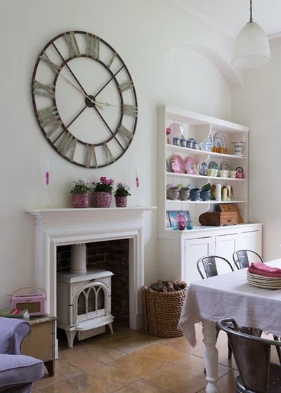 Shabby-chic Style Dining Room by Paul Craig Photography