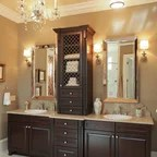 French Country Traditional Bathroom Charlotte By