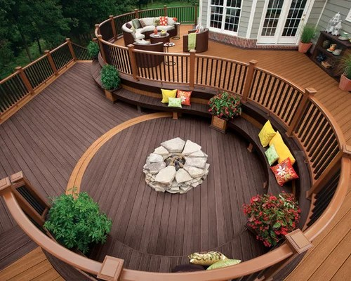 Two Tone Decking Home Design Ideas Pictures Remodel And