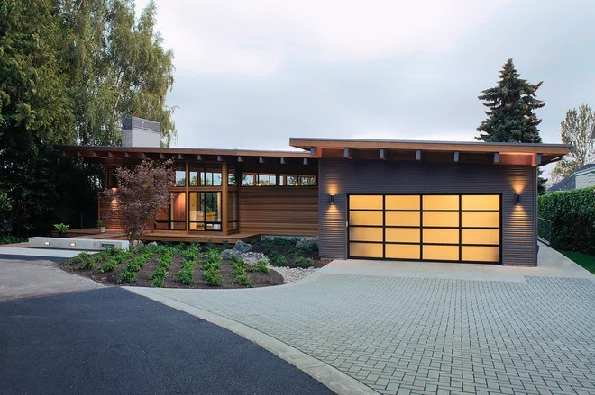 Rustic Exterior by Hammer & Hand