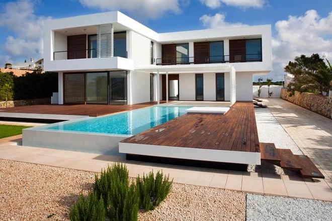 Moderno Fachada by dom arquitectura