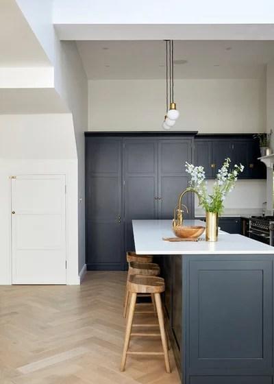 Victorian Kitchen by Hannah Gooch Interior Design