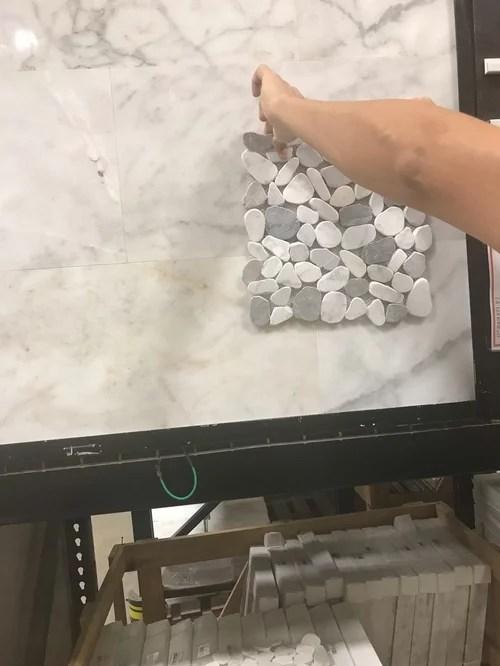 bullnose finish for marble shower