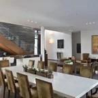 Reclaimed Black Walnut Live Edge Dining Table Modern