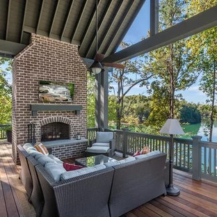 75 Beautiful Traditional Balcony With A Fire Pit Pictures Ideas January 2021 Houzz