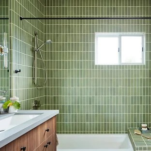 green tile bathroom pictures ideas
