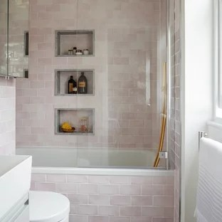 pink tile bathroom pictures ideas