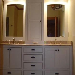 double vanity towers houzz