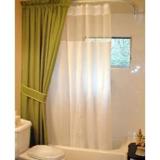 hidden shower curtain track ideas