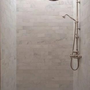 subway tile shower stall houzz