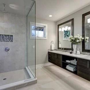 modern corner shower pictures ideas