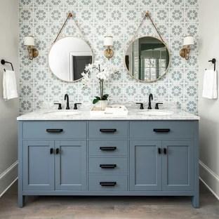 75 beautiful gray cement tile bathroom