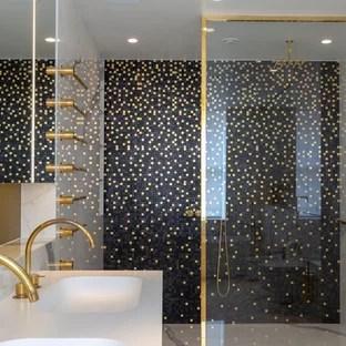 black and gold bathroom ideas houzz