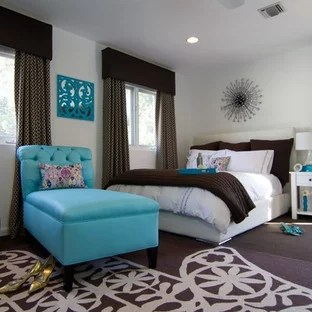 chocolate brown and turquoise ideas