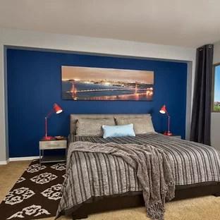 Masculine Master Bedroom Houzz