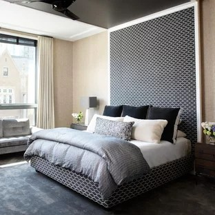 Black And Beige Bedroom Ideas And Photos Houzz