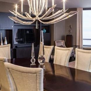 unique dining room lighting houzz