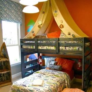 Boys Camp Theme Bedrooms Houzz
