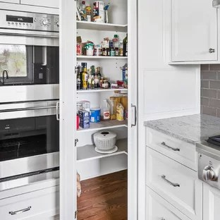 75 Beautiful Kitchen Pantry With Beige Countertops Pictures Ideas January 2021 Houzz