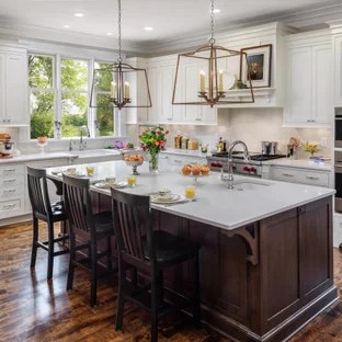75 Beautiful Kitchen With Subway Tile Backsplash Pictures Ideas August 2021 Houzz