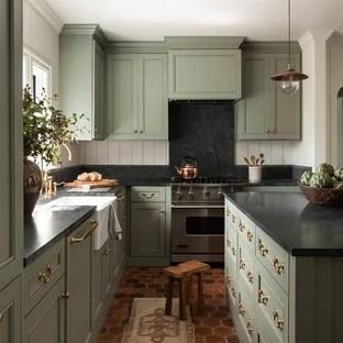 75 Beautiful Kitchen With Black Backsplash Pictures Ideas January 2021 Houzz