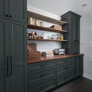 75 Beautiful Kitchen Pantry With Shaker Cabinets Pictures Ideas January 2021 Houzz