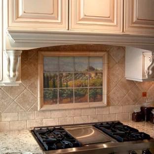 tuscan tile murals houzz