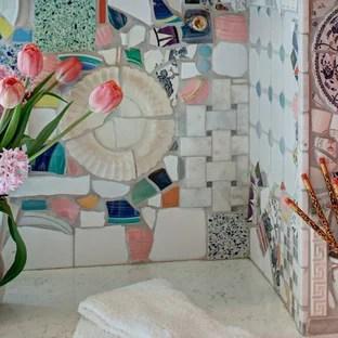 vintage backsplash tile houzz