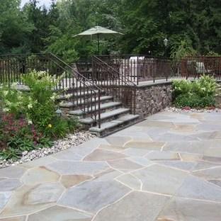 stone patio ideas houzz