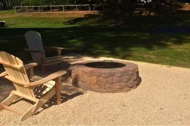 valley landscaping stone patio
