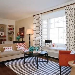 elegant living room curtains houzz