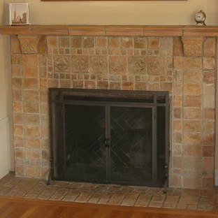 tile fireplace pictures ideas